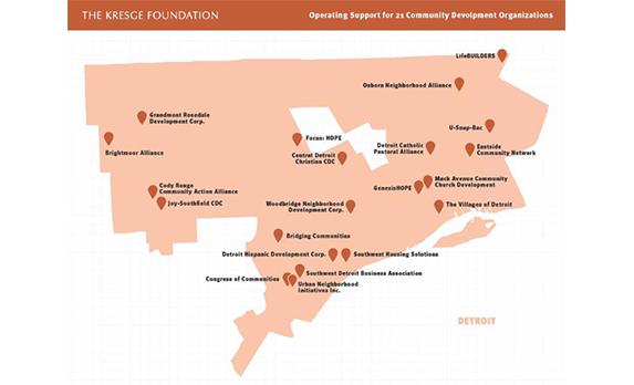 Kresge Awards Bridging Communities 3-Year Grant Funding